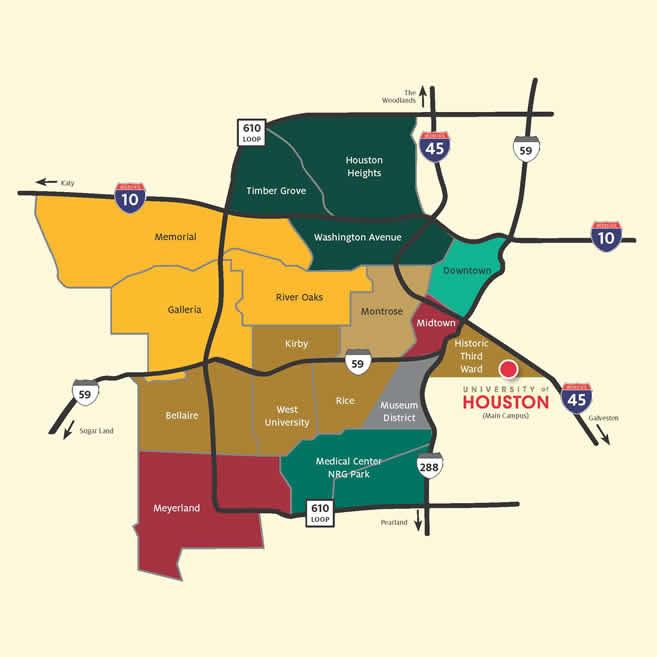 Houston Apartments Map