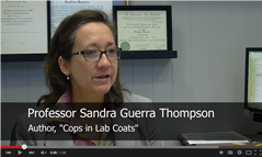 UH Law Center's Thompson calls for forensic science reform in new book 'Cops in Lab Coats'